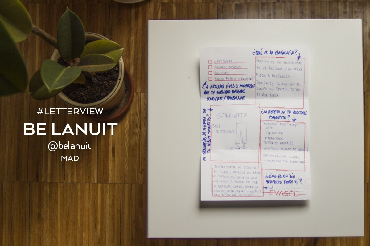 Be Lanuit | Letterview.