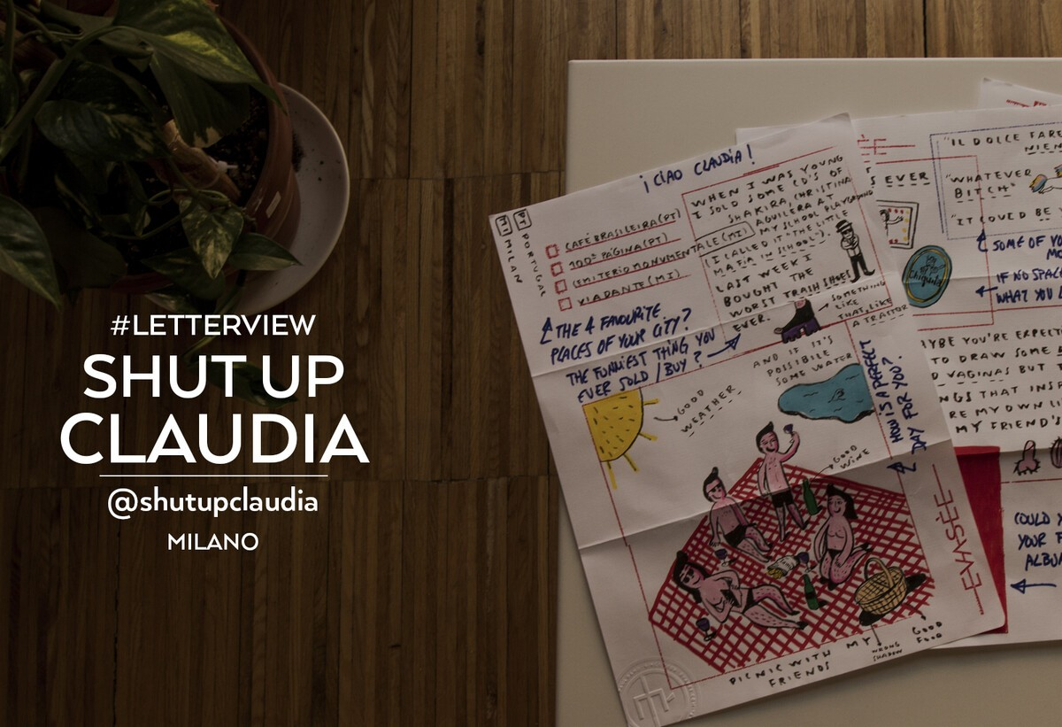 Shut Up Claudia | Letterview.