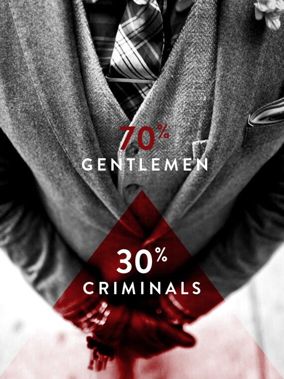 Valentino Borghesi, The Tailors - Gentlemen Criminals.