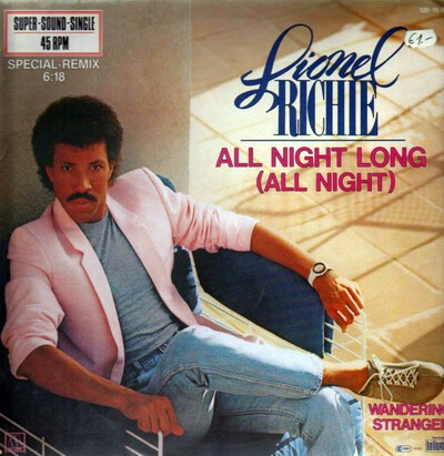 "Lionel Ritchie - ""All Night Long"" (Gui Pimentel Rework)"