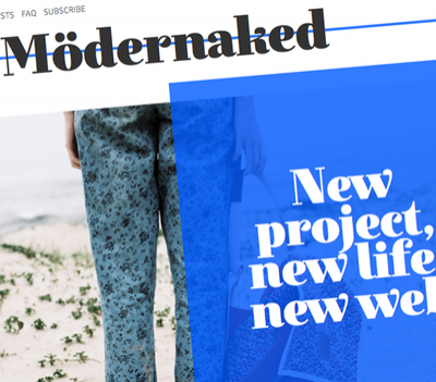 Mödernaked new website!